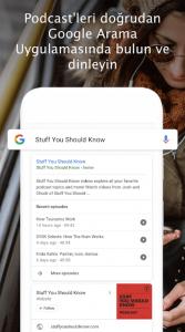 Google arama sonuçlarında Podcasts yer vermeye başladı