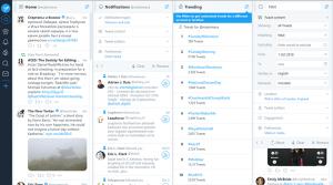 Birkaç Twitter hesabını yönetmek ve sözleri izlemek için kullanışlı bir araç.